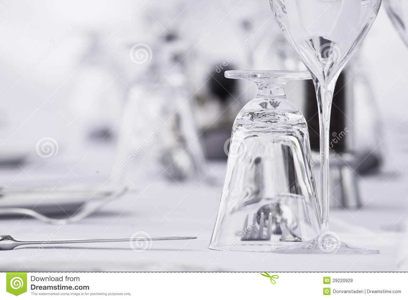 Fine dining table setting stock image image of breakfast 29220929 - Fine dining table layout ...