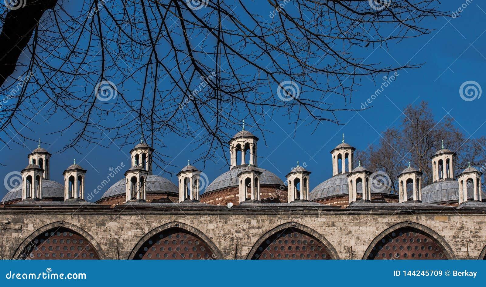 Fine example of ottoman Turkish architecture fragments