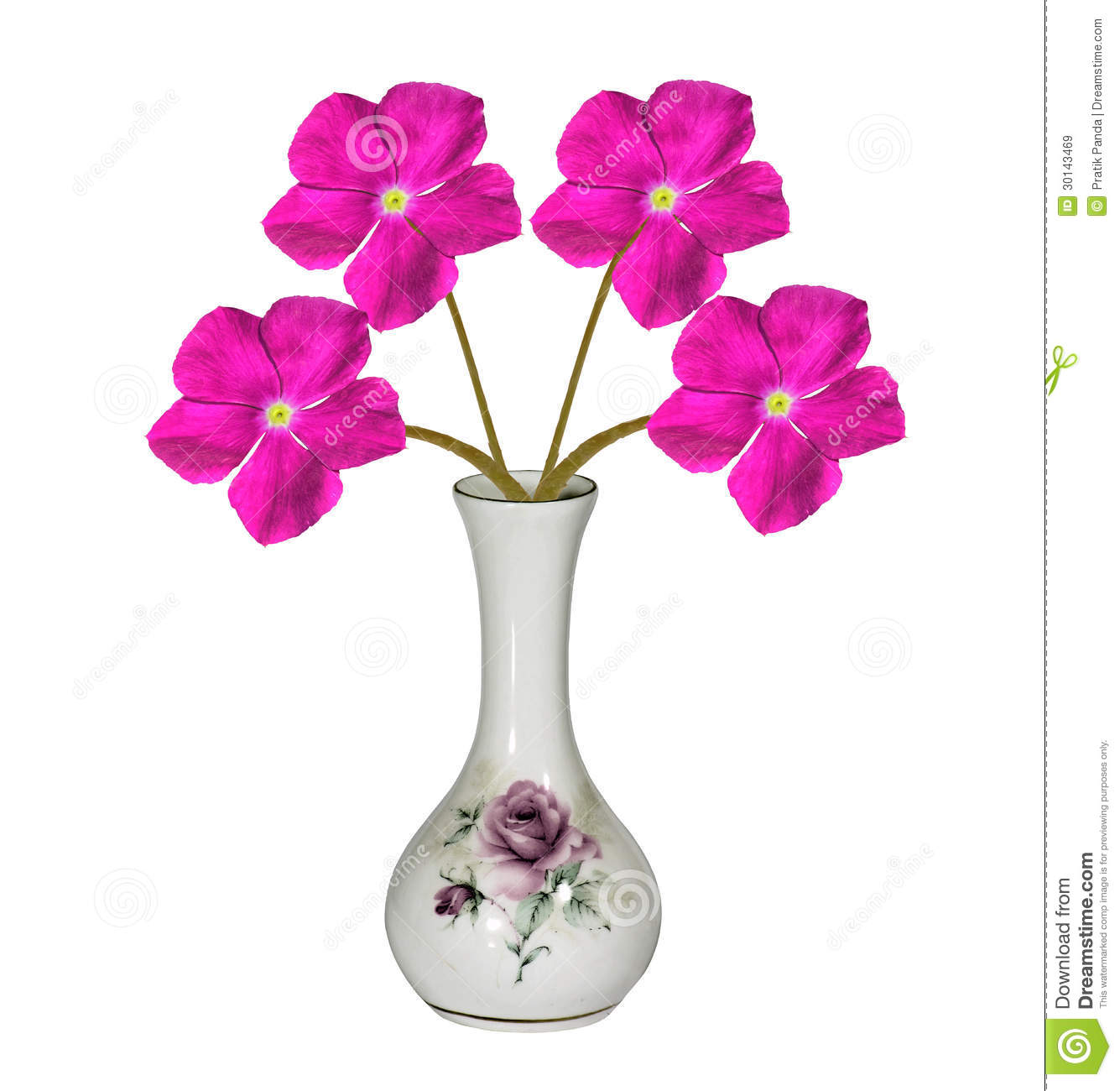 hdr designer flower vase home decor stock illustration illustration of flowers glass 30143469. Black Bedroom Furniture Sets. Home Design Ideas