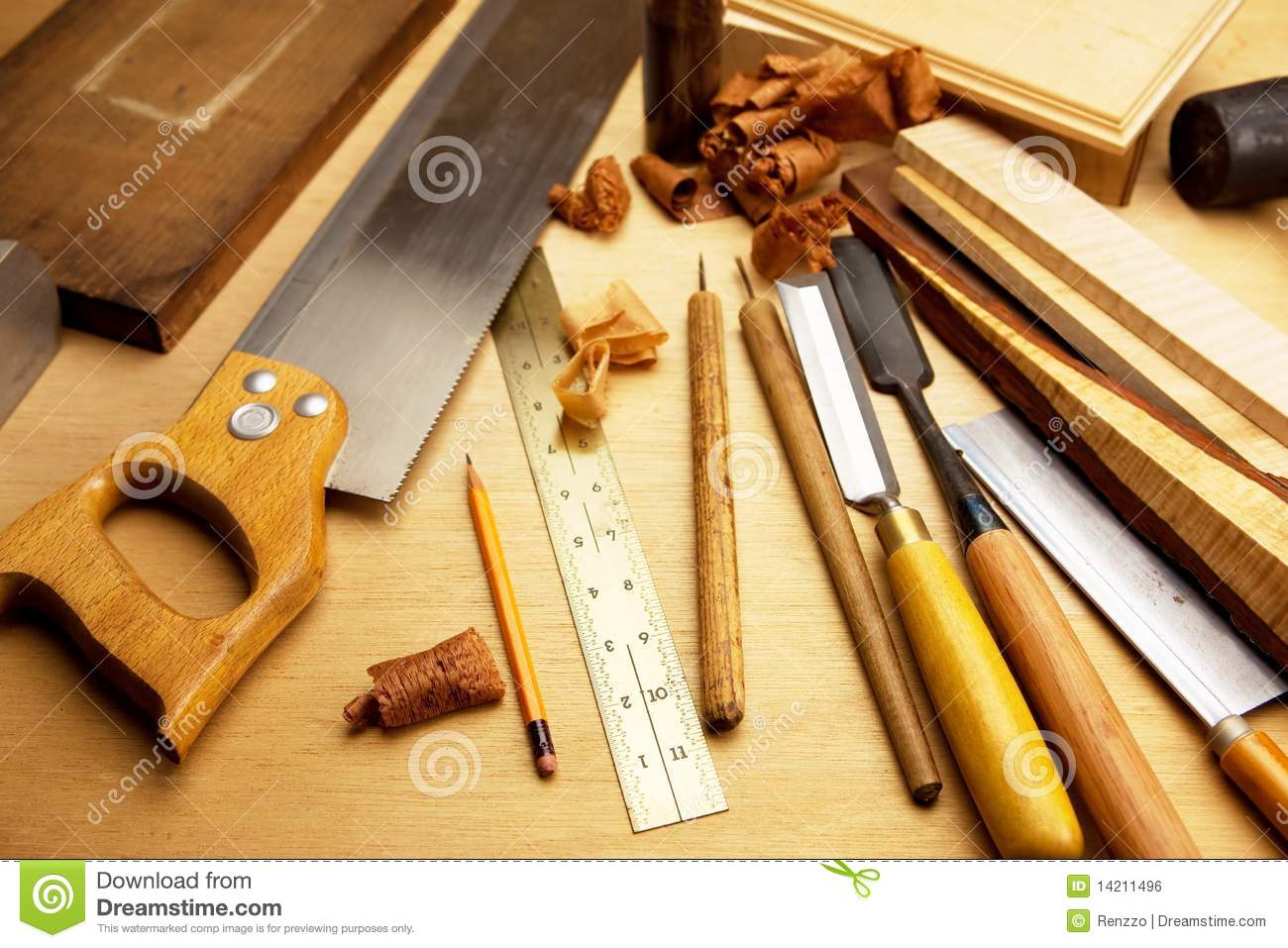 Fine Wood Working Royalty Free Stock Image - Image: 14211496