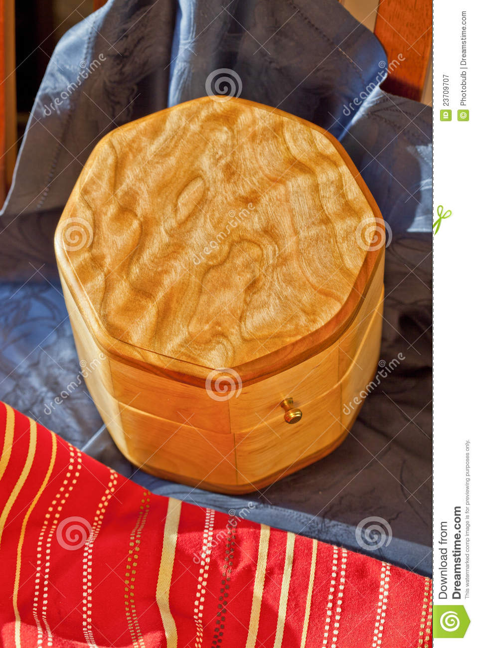Fine Woodworking In Quilted Maple Stock Image Image Of Maple