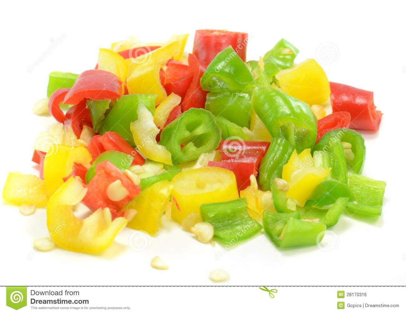 Finely chopped chilli peppers