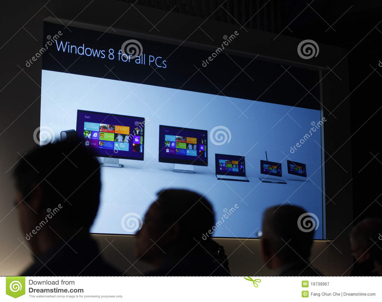 Finestra 8 di previsioni di Microsoft