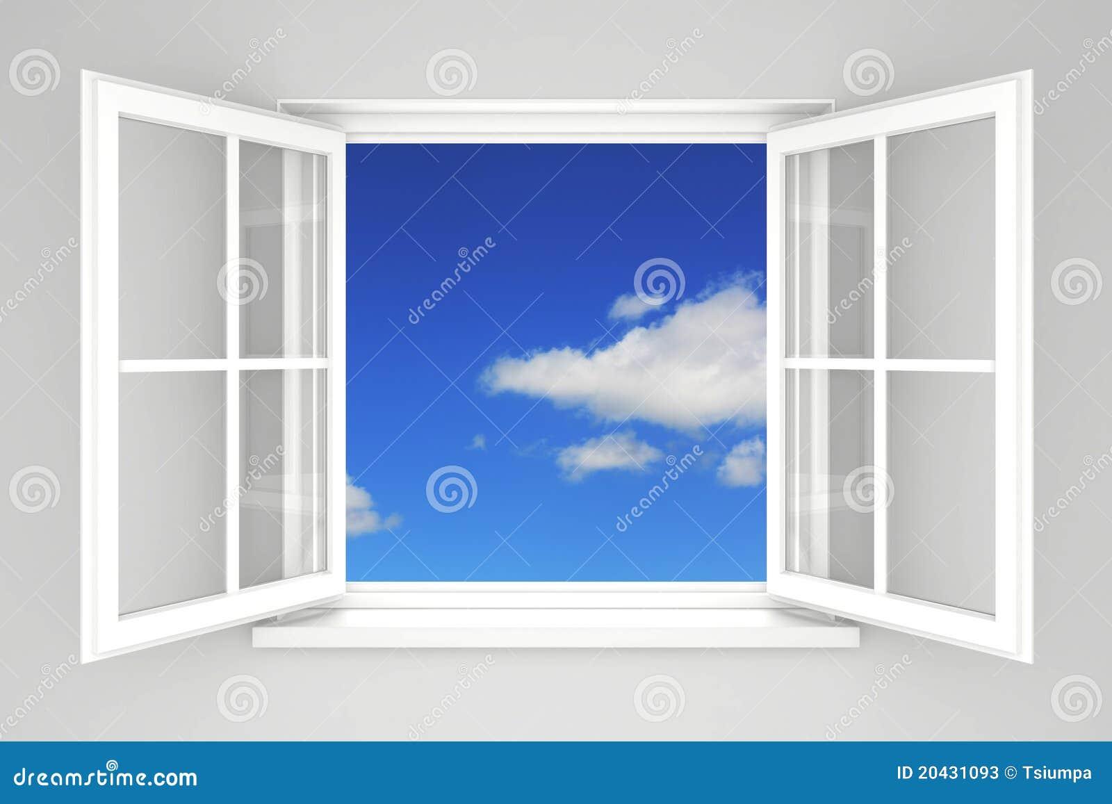 finestra aperta fotografie stock immagine 20431093