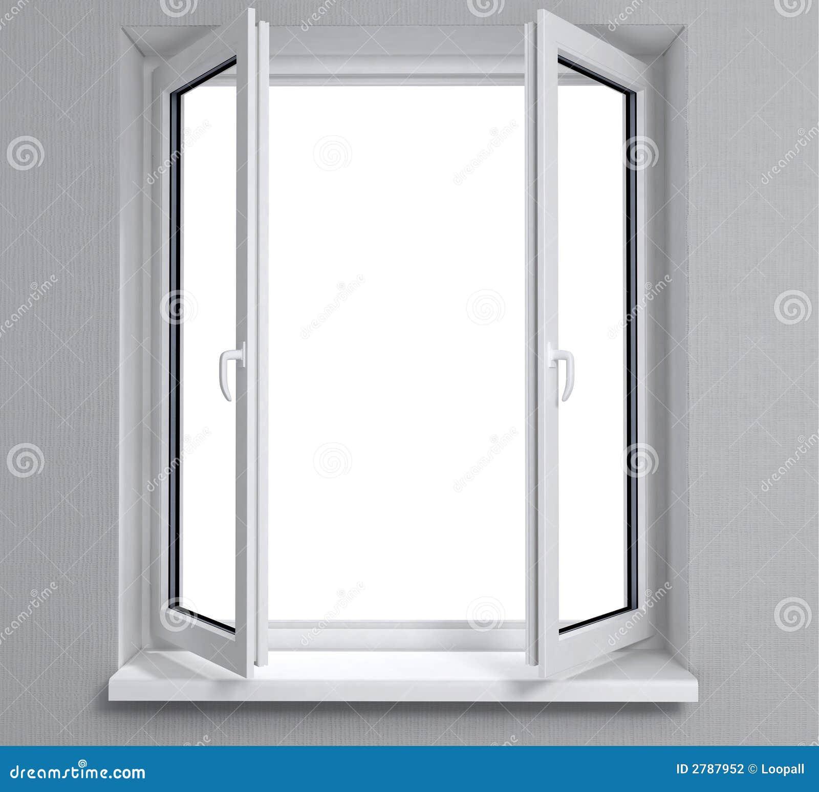 Finestra aperta fotografia stock immagine di portelli for Disegno di finestra aperta