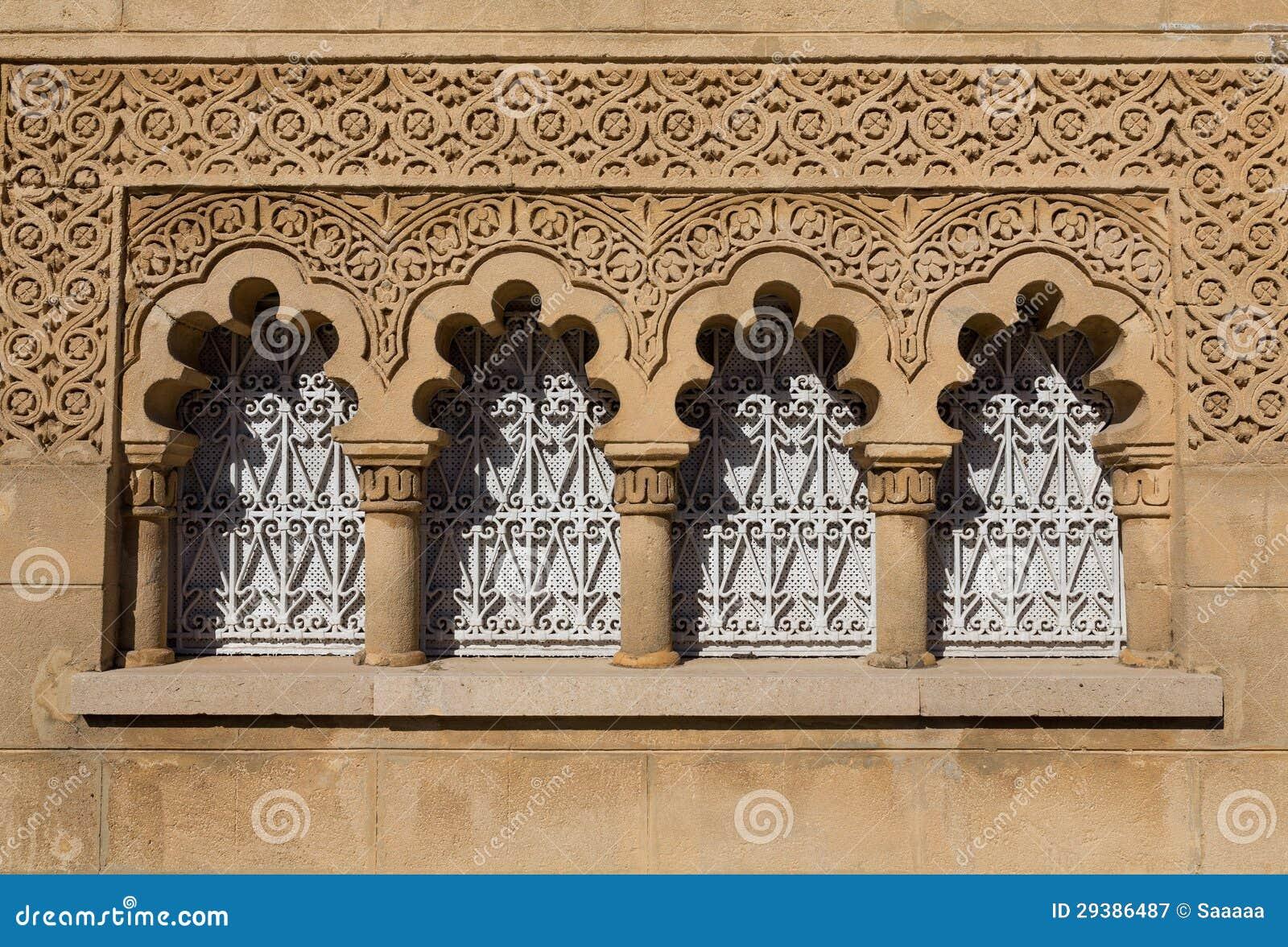 Finestra e facciata arabe immagine stock libera da diritti ...