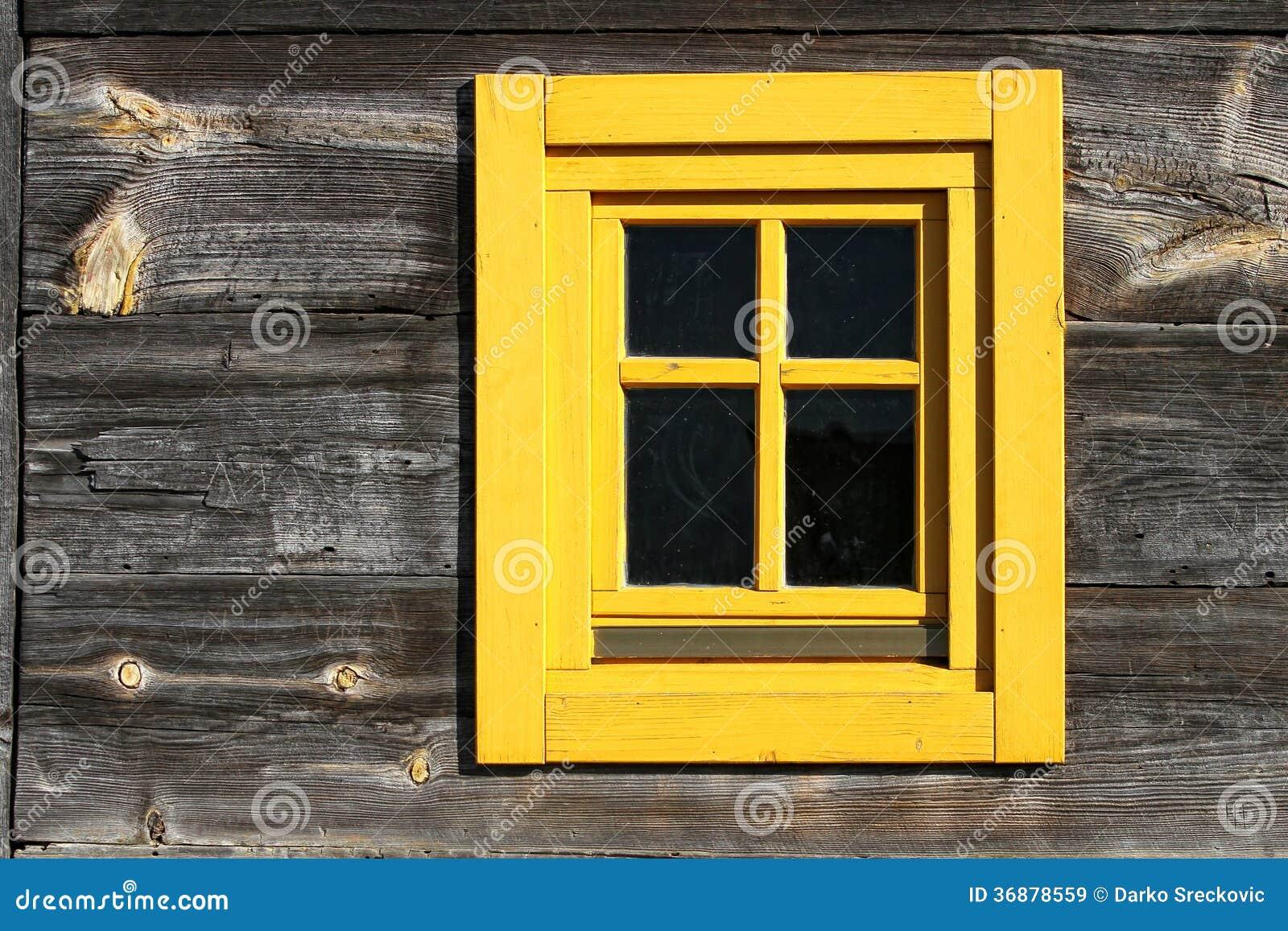 Download Finestra Della Casa Di Campagna Immagine Stock - Immagine di rustic, wooden: 36878559