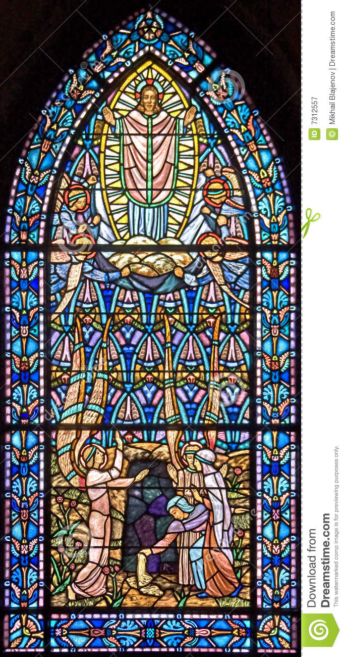 Finestra di Stained-glass 97