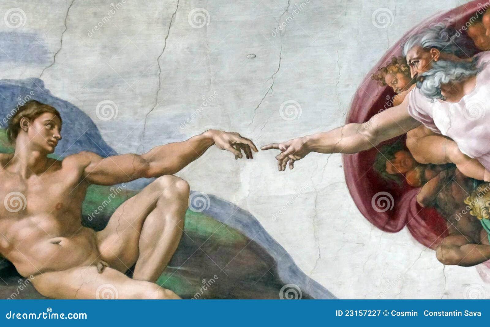 Finger des Gottes