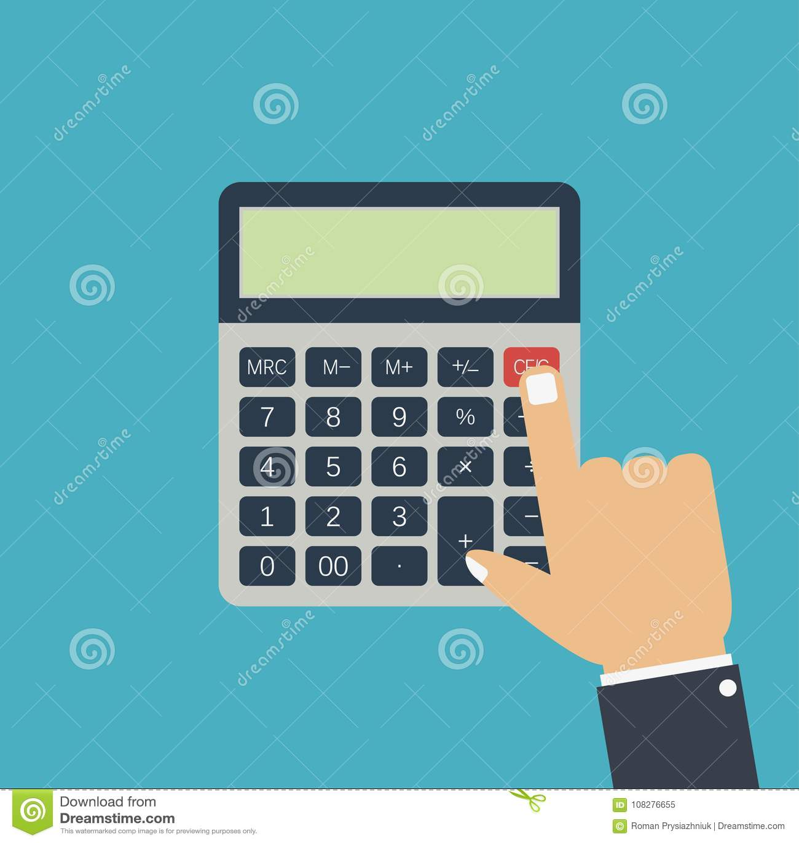 Calculators Stock Illustrations – 173 Calculators Stock ...