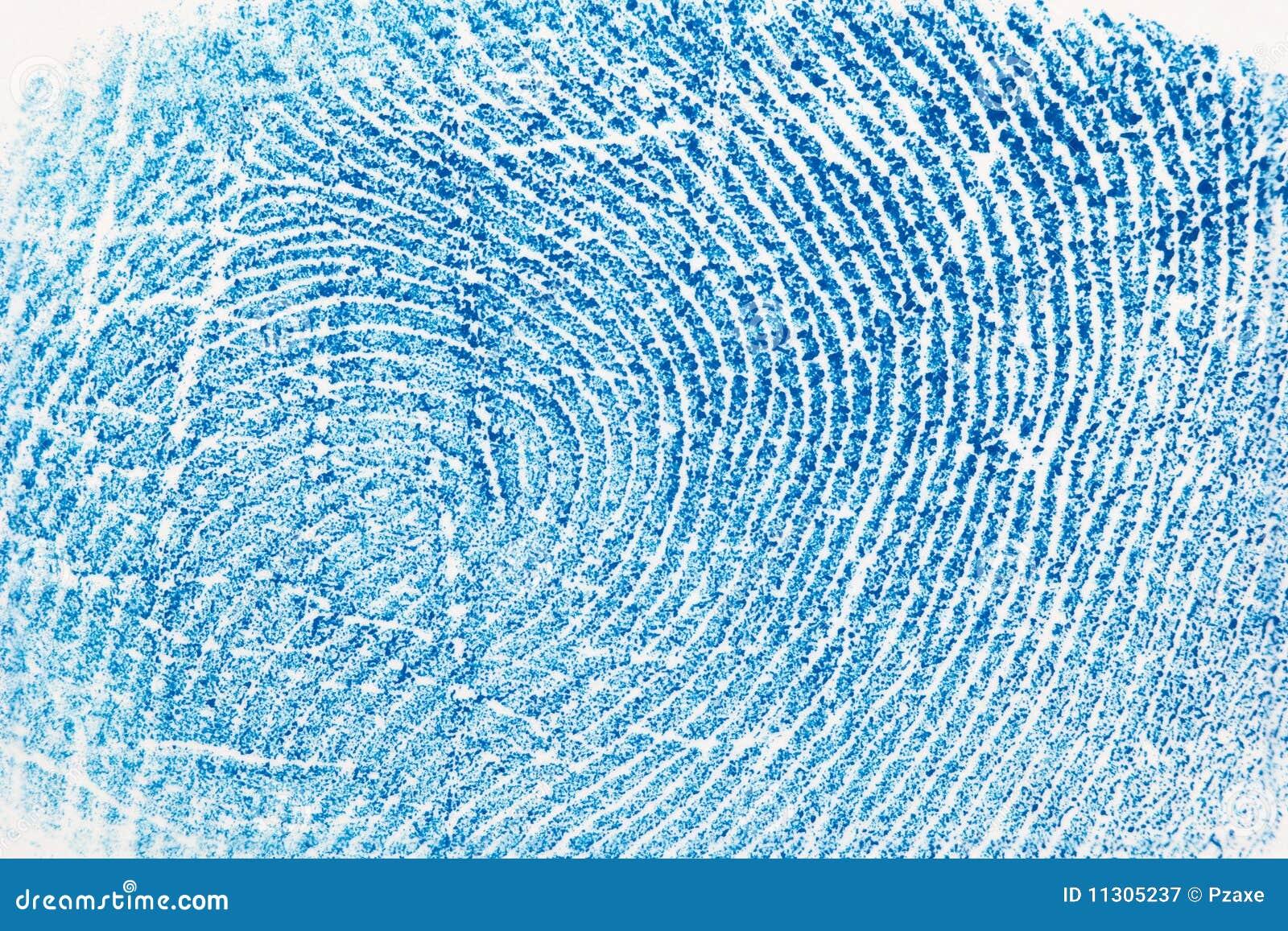 Fingerabdruckhintergrund