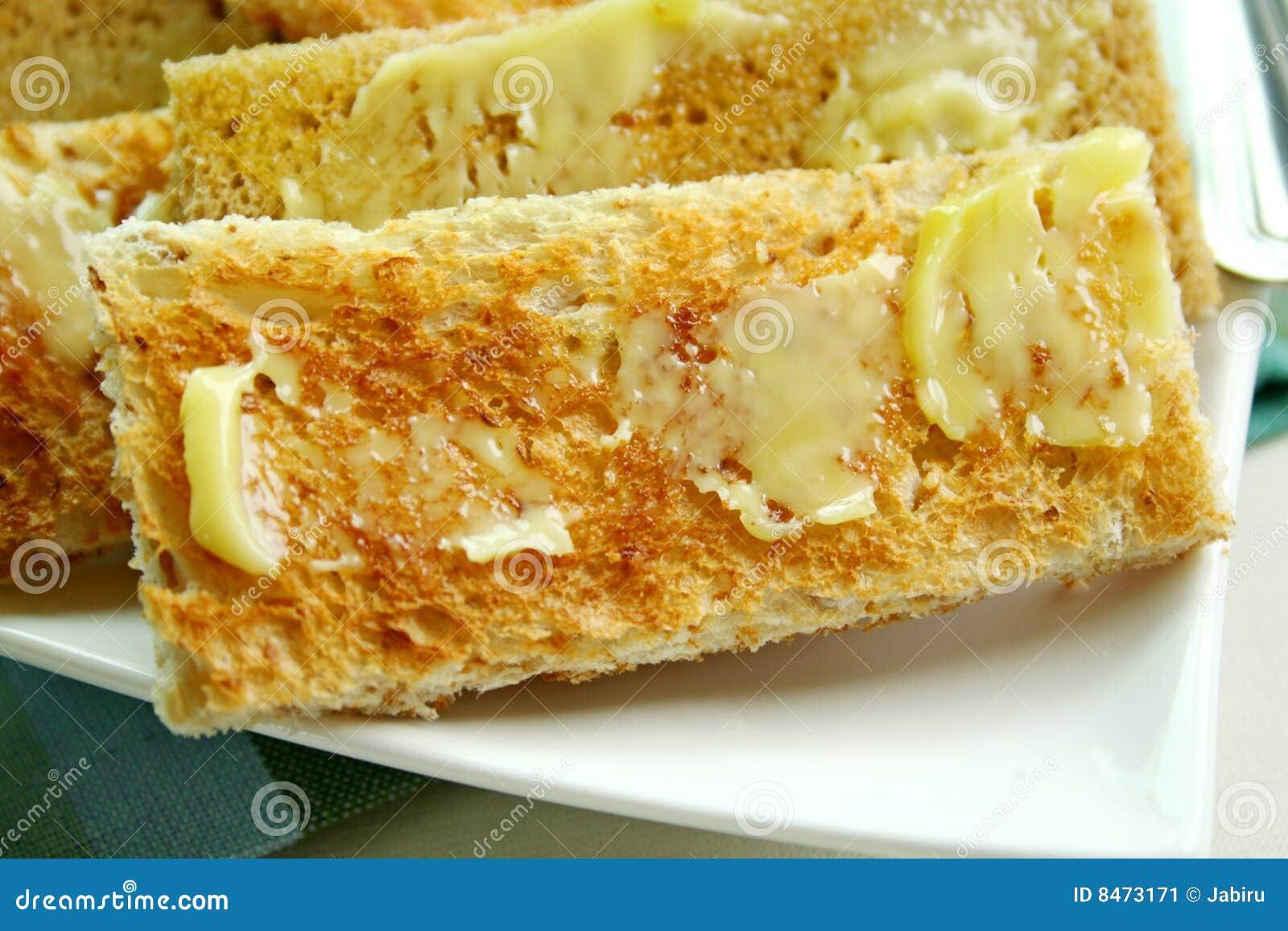 Fingerrostat bröd