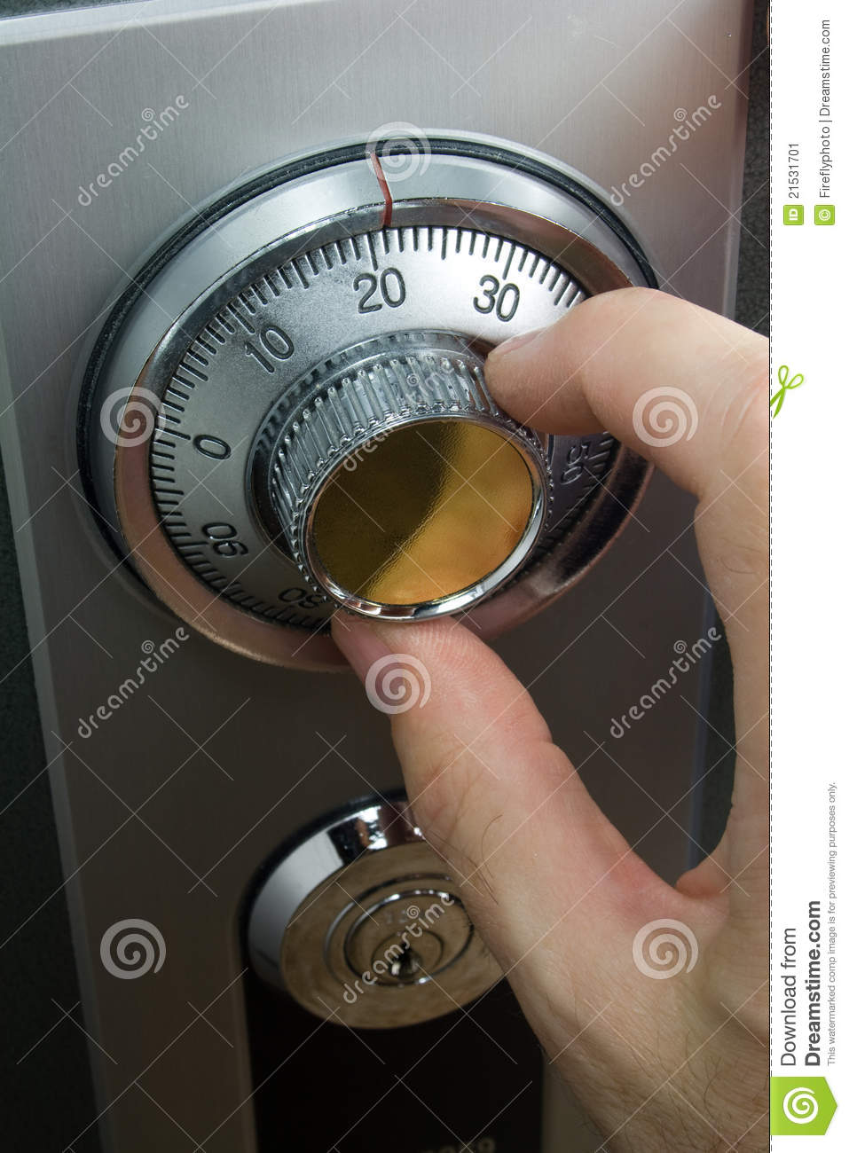 Turning A Dial On This Machine