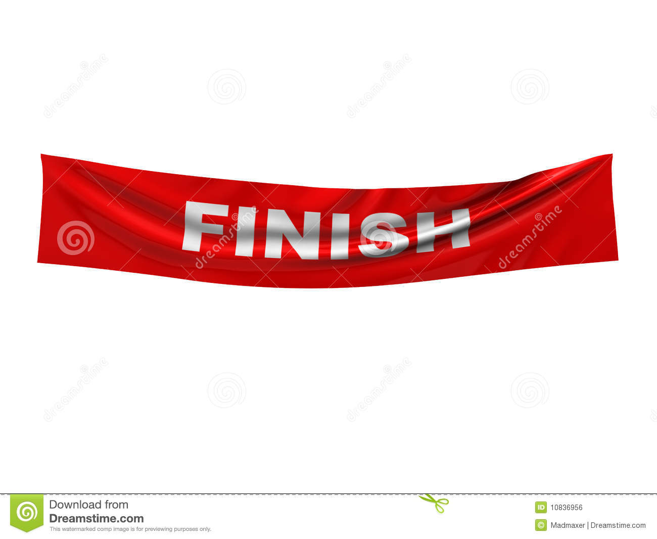 finish banner royalty free stock image  image: 10836956