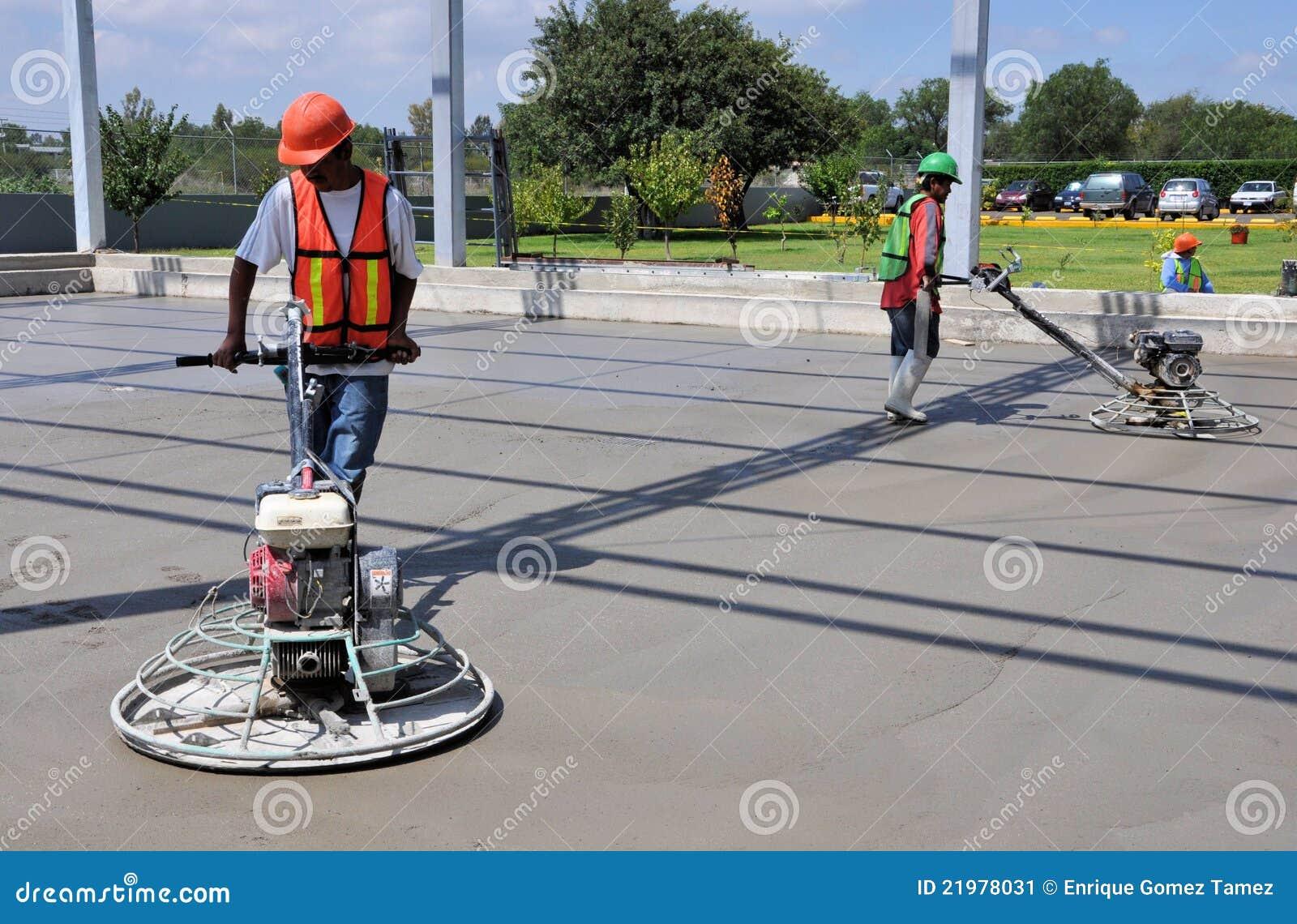 concrete finish machine
