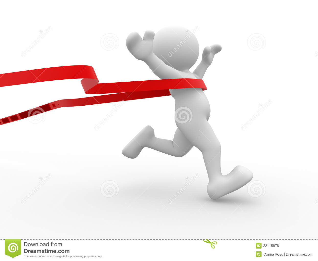 finishing line stock illustration image of best person