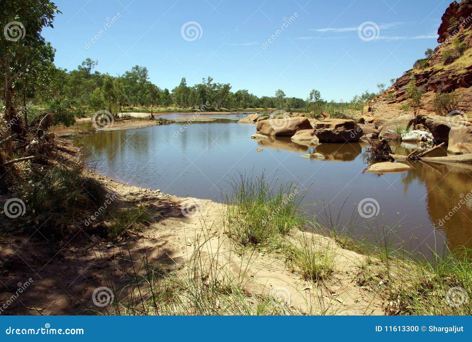 Finke Fluss, Australien