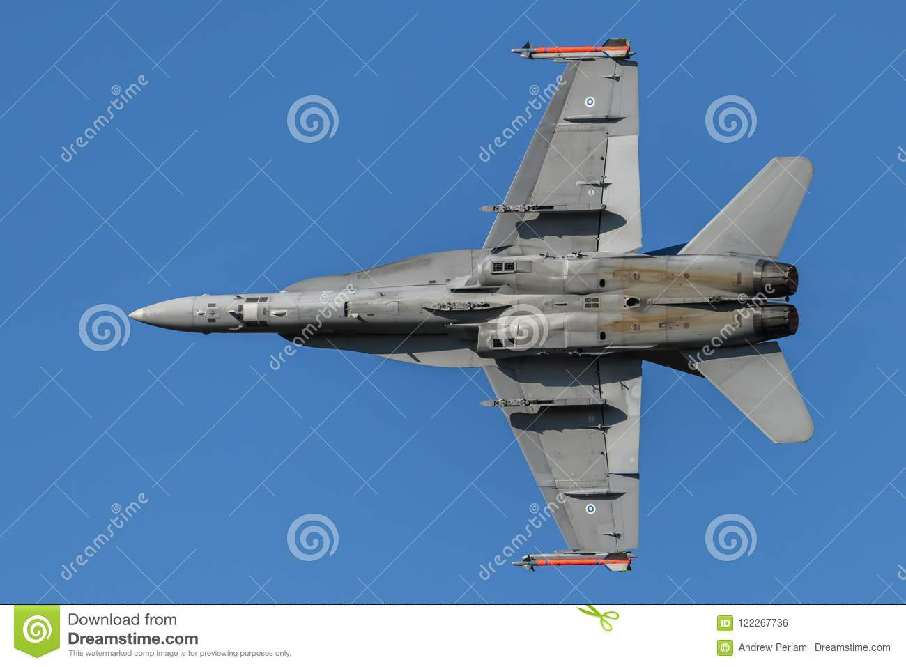 Finland Air Force F18 Hornet Jet Aircraft Editorial Photo - Image of