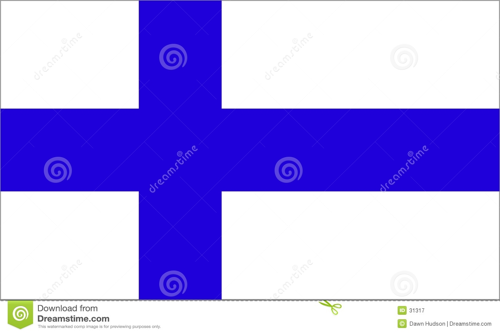 Finland flagga