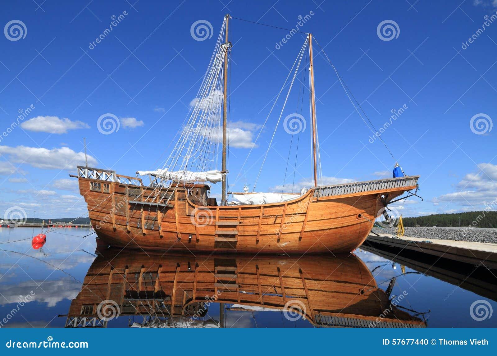 Finland/Tourism: Pirate Ship? Stock Photo - Image: 57677440