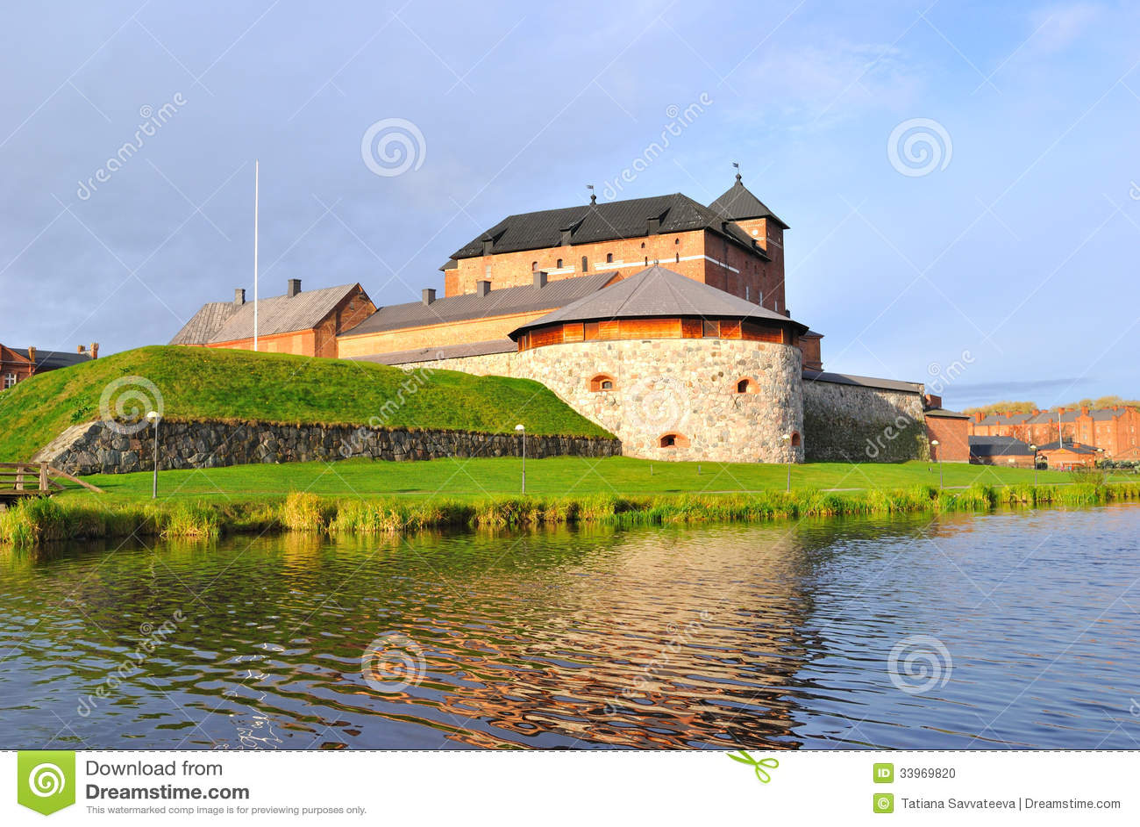Finlandia. Hameenlinna medieval
