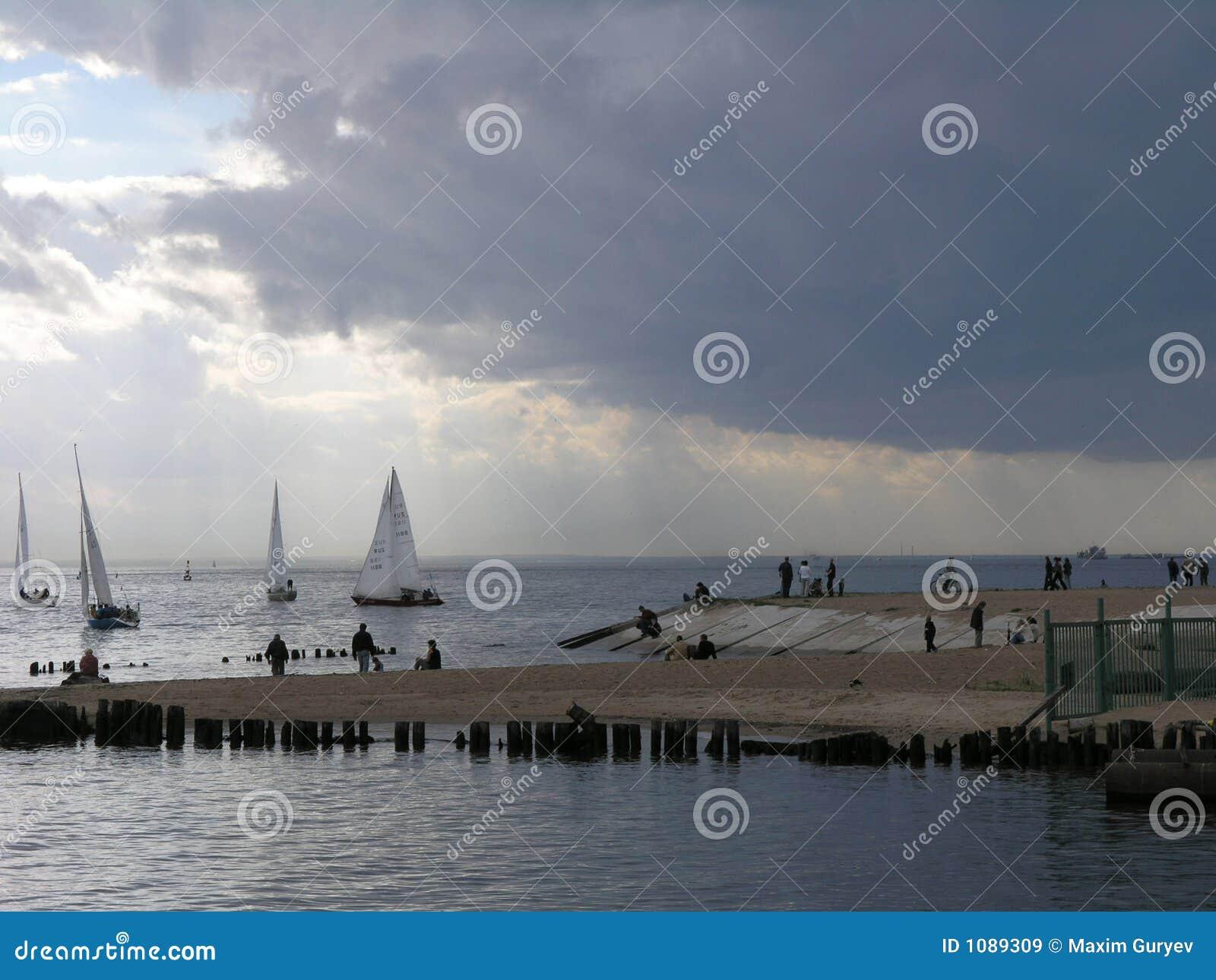 Finlandia zatoki jachtów