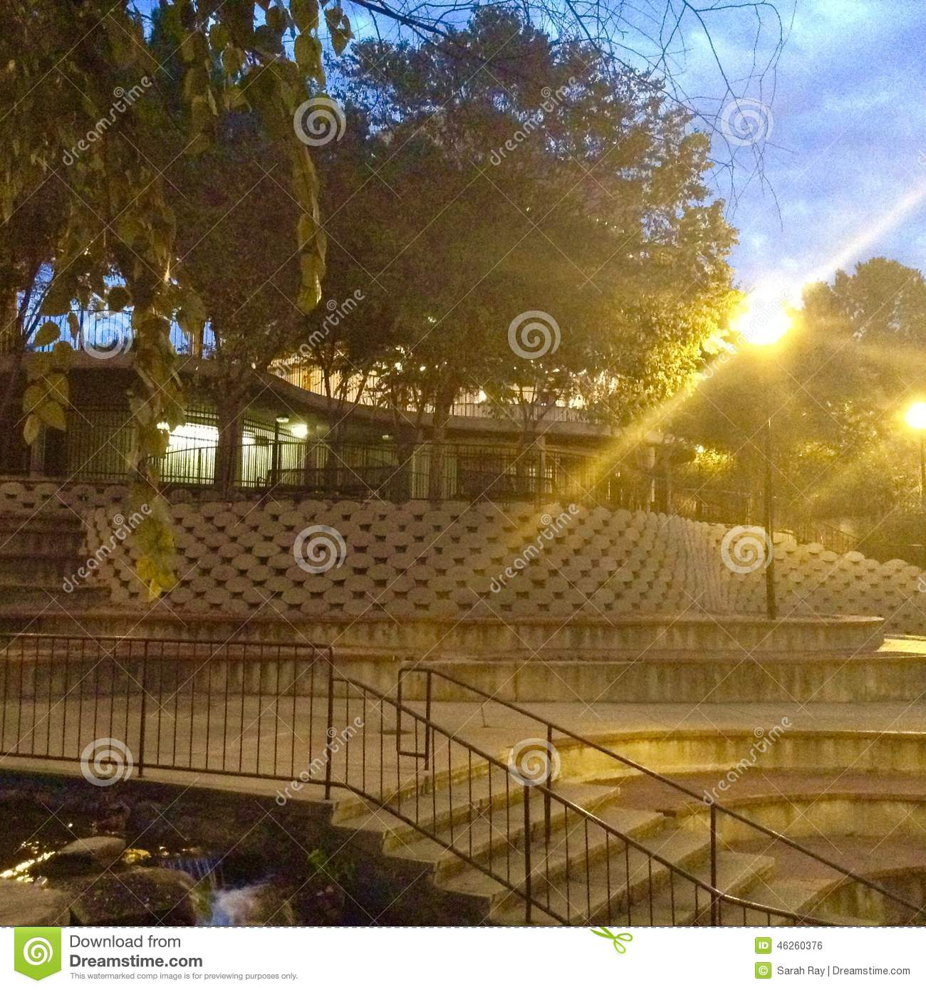 Finlay Park, Twilight at the Cafe