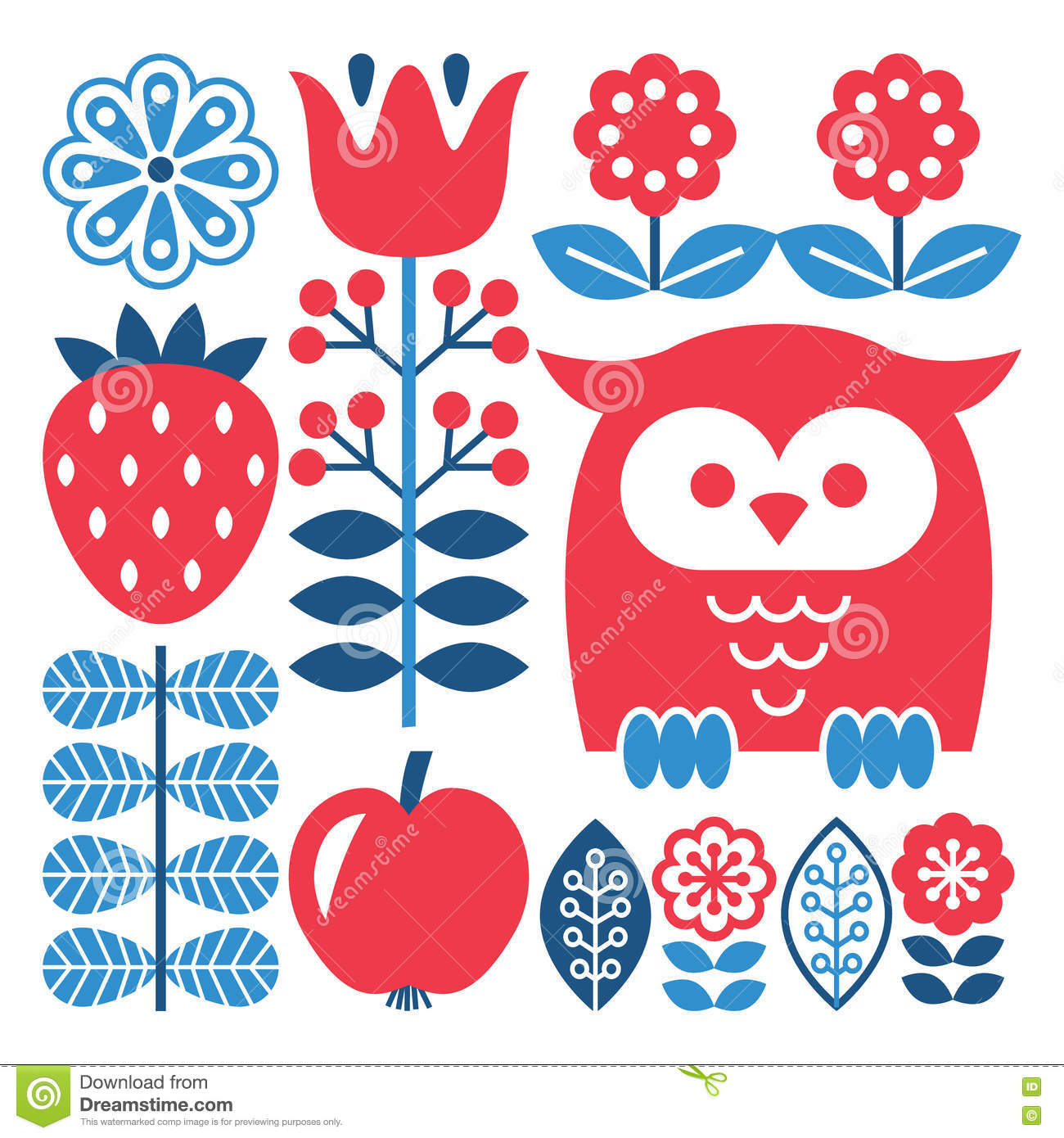 Image Result For Traditional Swedish Patterns