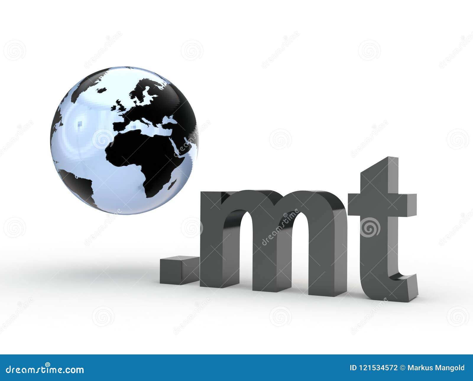 Fins d adresse de Domain Name de site Web avec le globe