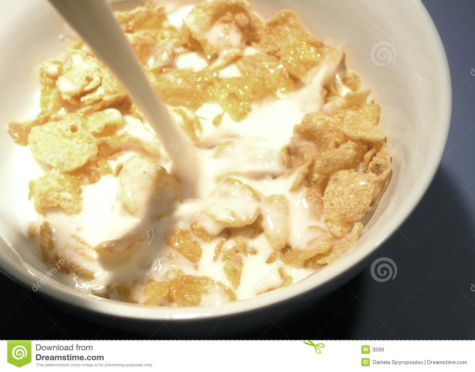 Download Fiocchi di avena immagine stock. Immagine di closeup, breakfasts - 3599