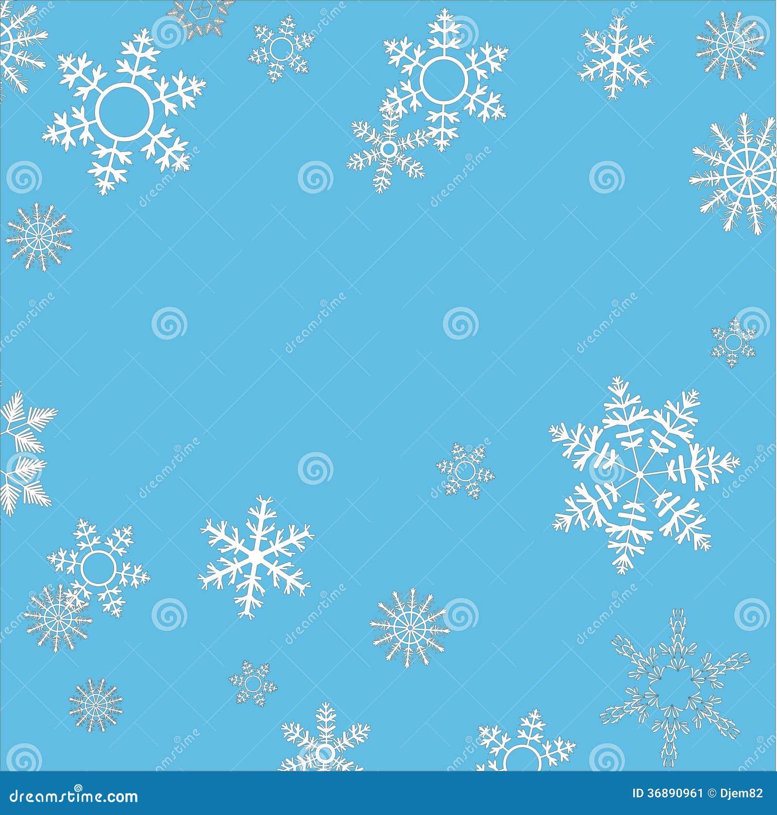 Download Fiocchi di neve illustrazione di stock. Illustrazione di illustrazione - 36890961
