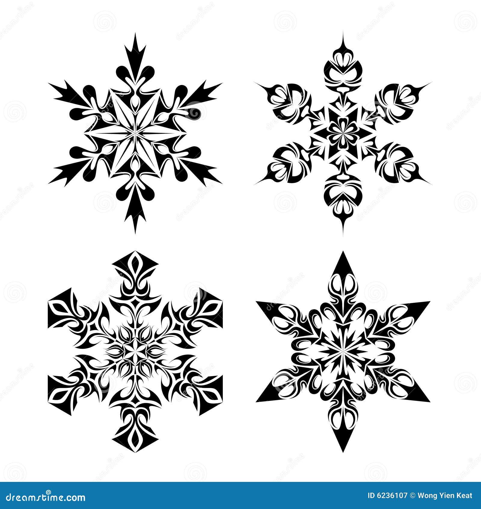 Fiocchi tribali della neve