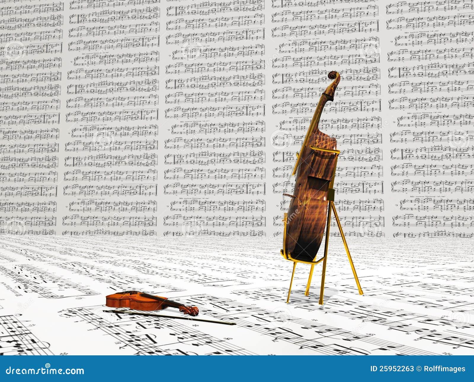 Fiol och violoncell