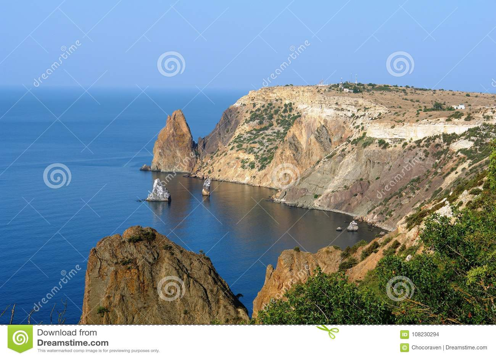 Fiolent udd Sevastopol Crimea