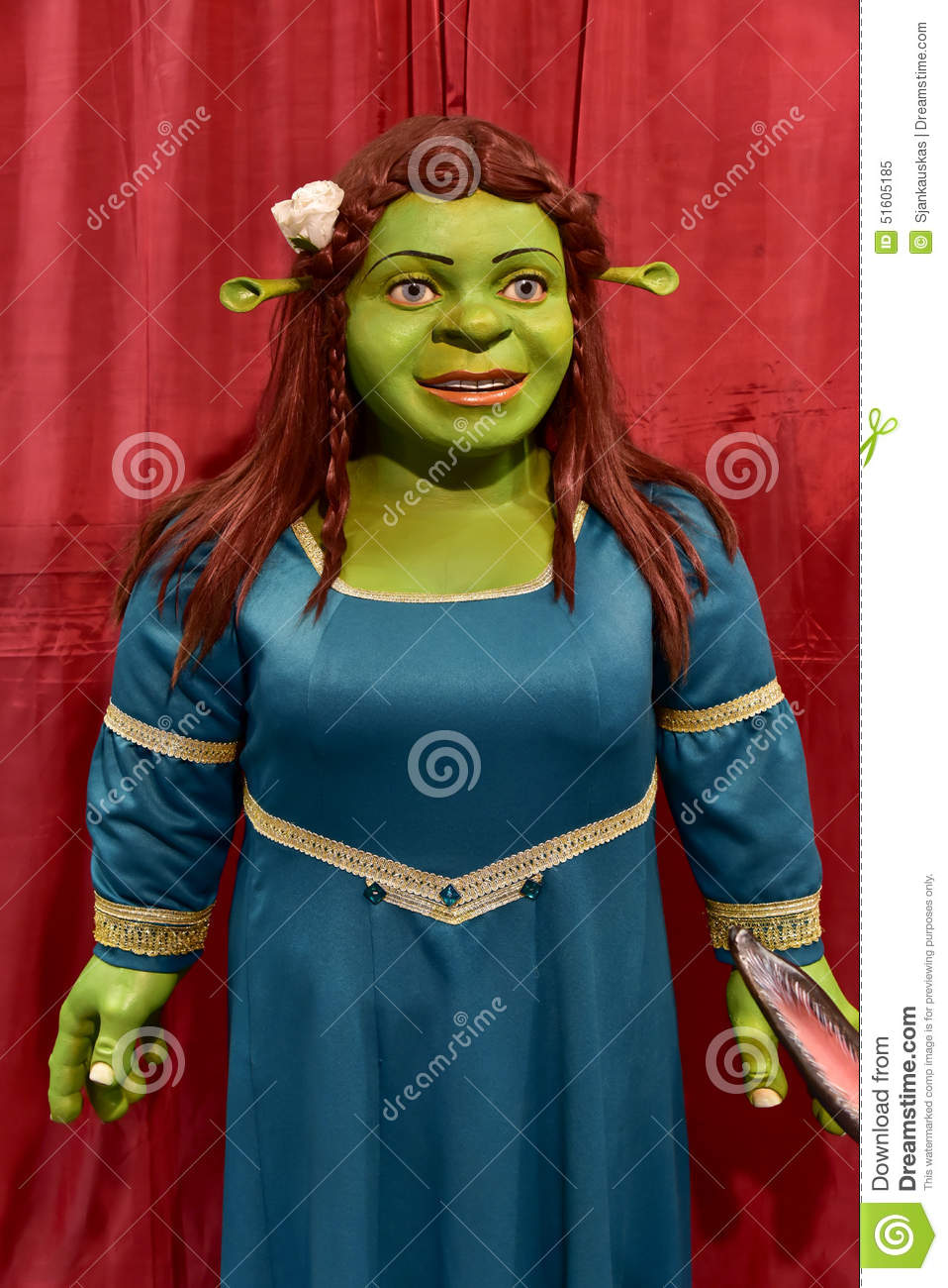 Shrek 2 Cartoon Characters : Fiona cartoon character editorial image of
