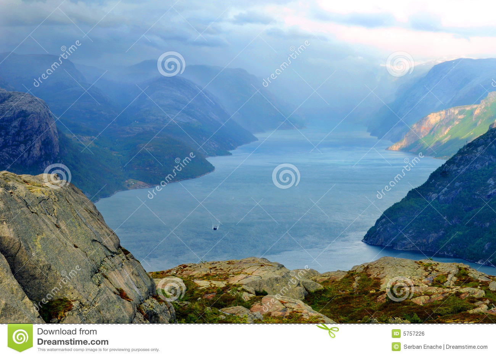 Fiordu krajobrazu
