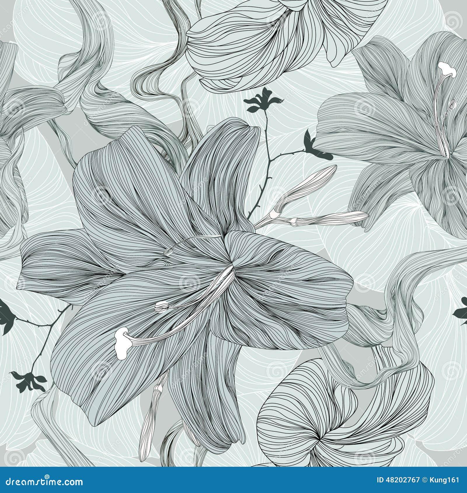 Fiore del disegno - illustrazione