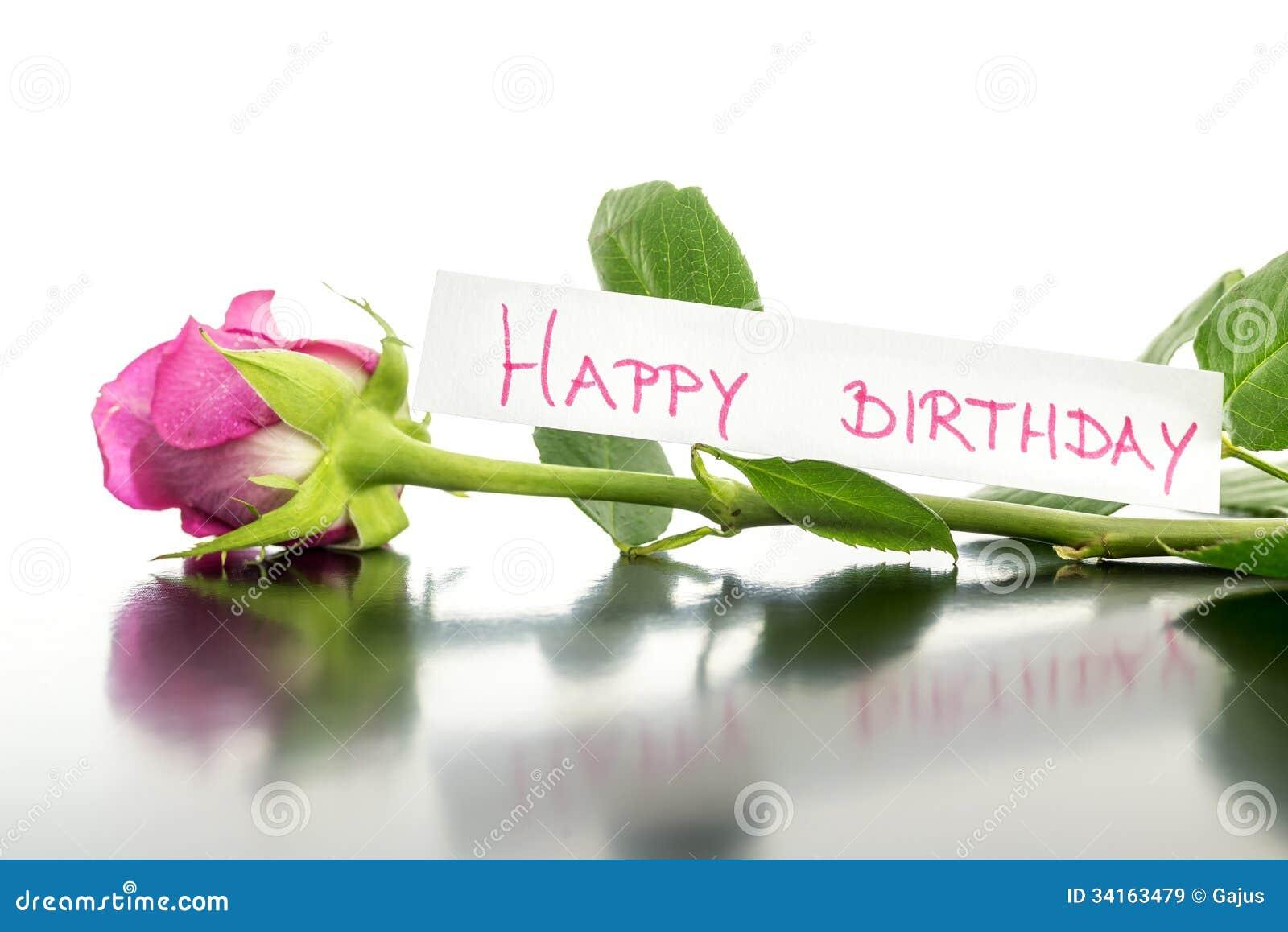 Fiore Di Buon Compleanno Immagine Stock Immagine Di Celebrazione