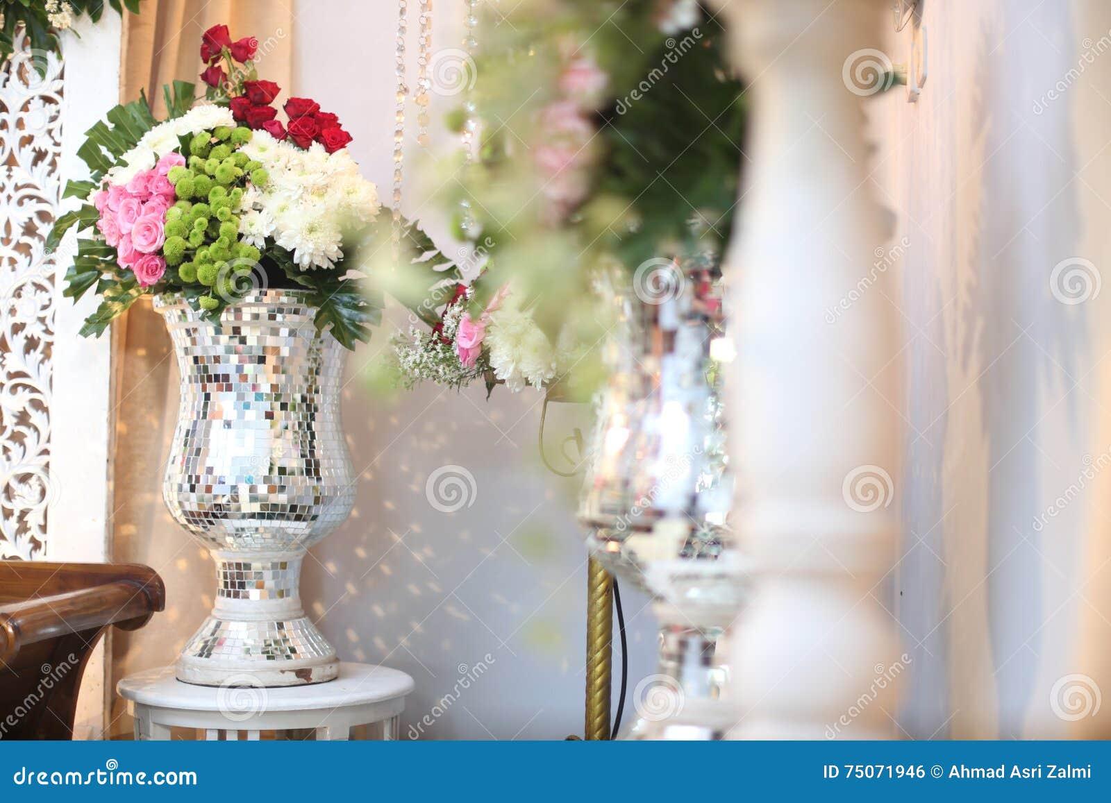 Fiore di nozze in un vaso