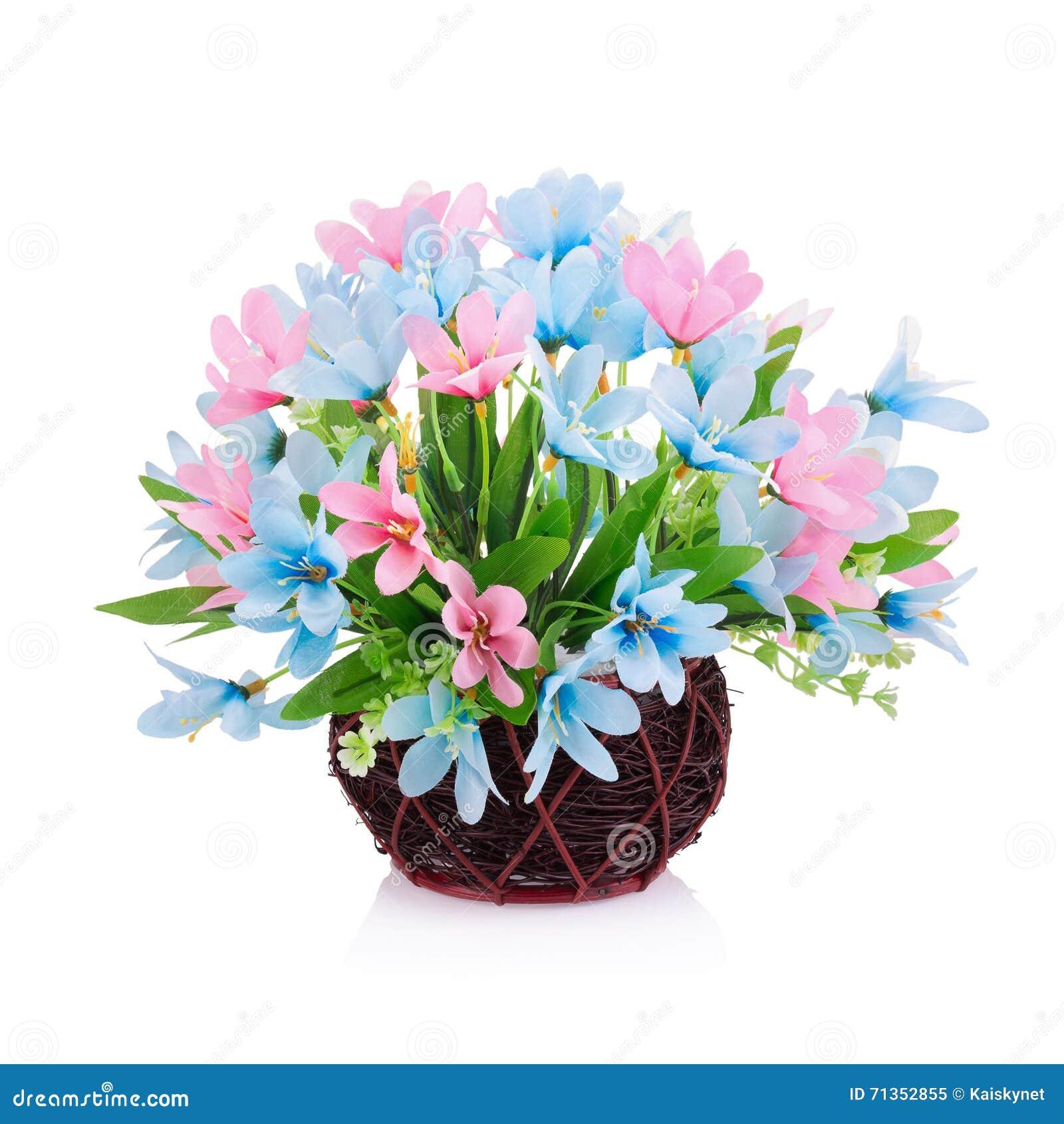 Fiore di plastica per la decorazione