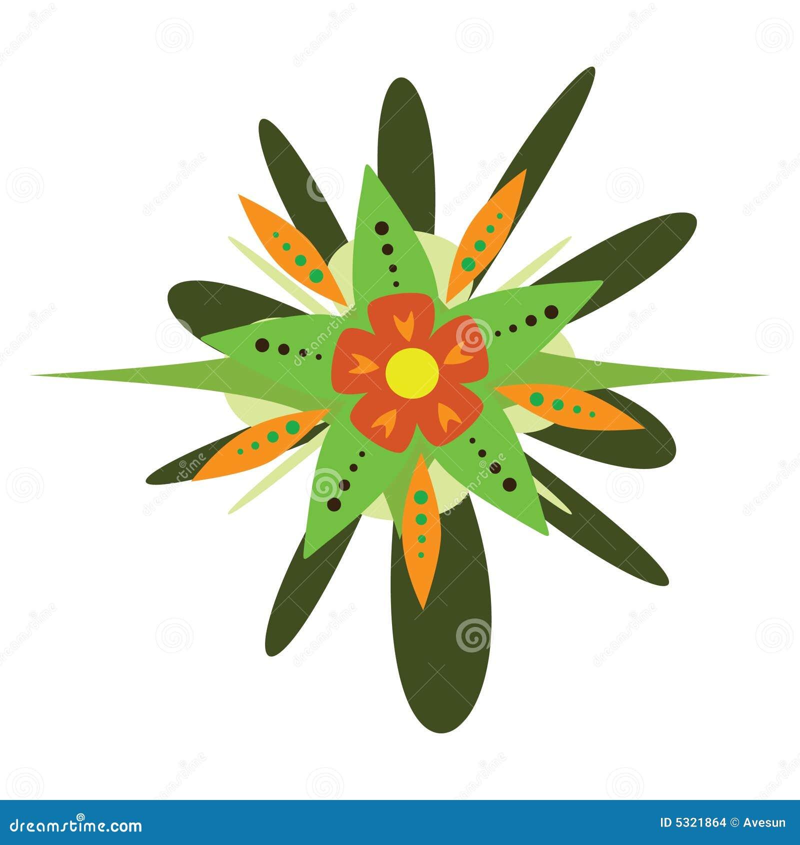 Download Fiore Di Vettore Di Fantasia Illustrazione Vettoriale - Illustrazione di isolato, bellezza: 5321864