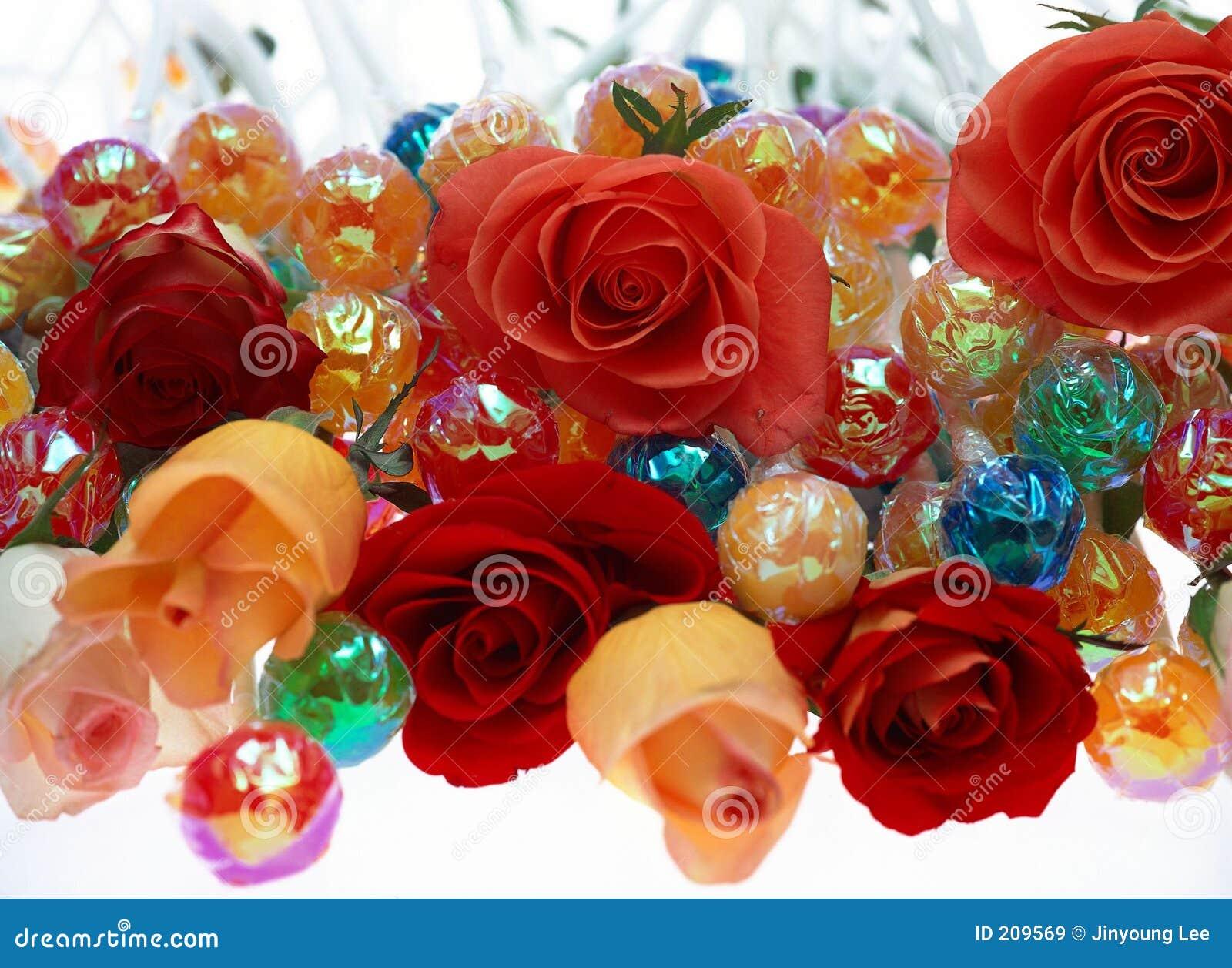 Fiore e caramella