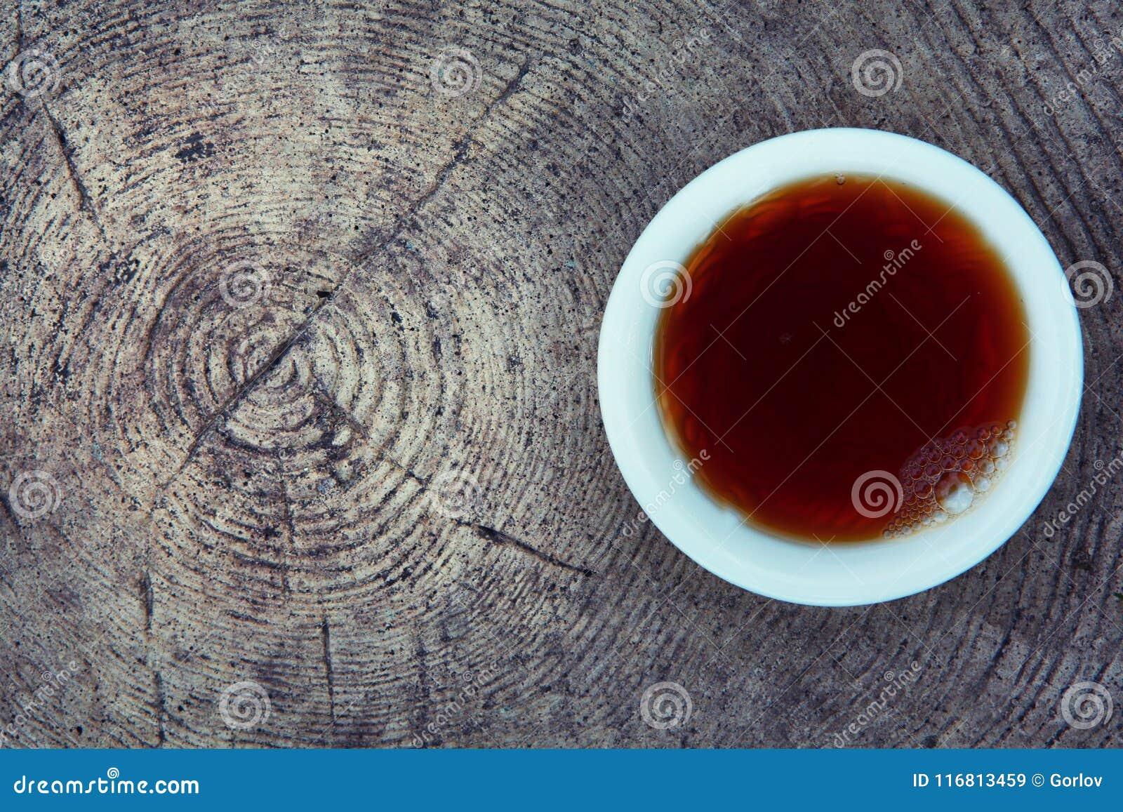 Fiori cinesi neri del giardino di tè