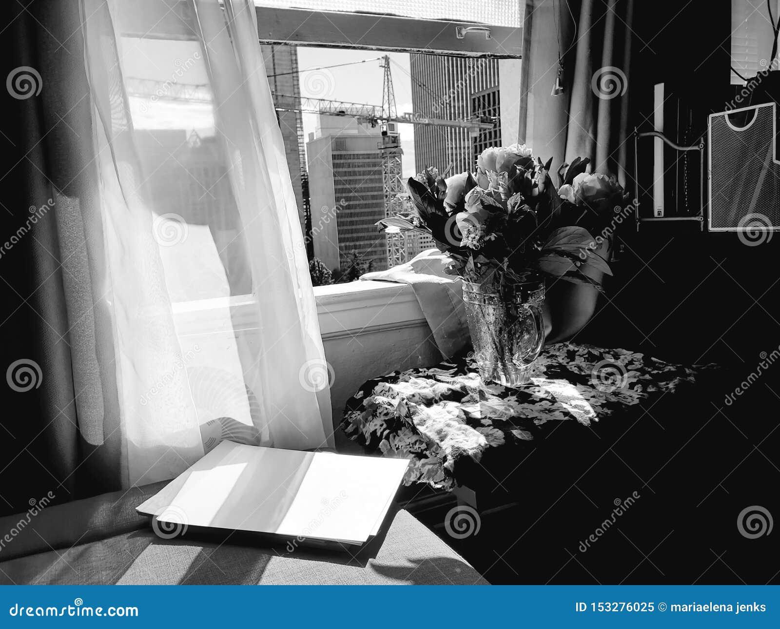 Fiori in una finestra