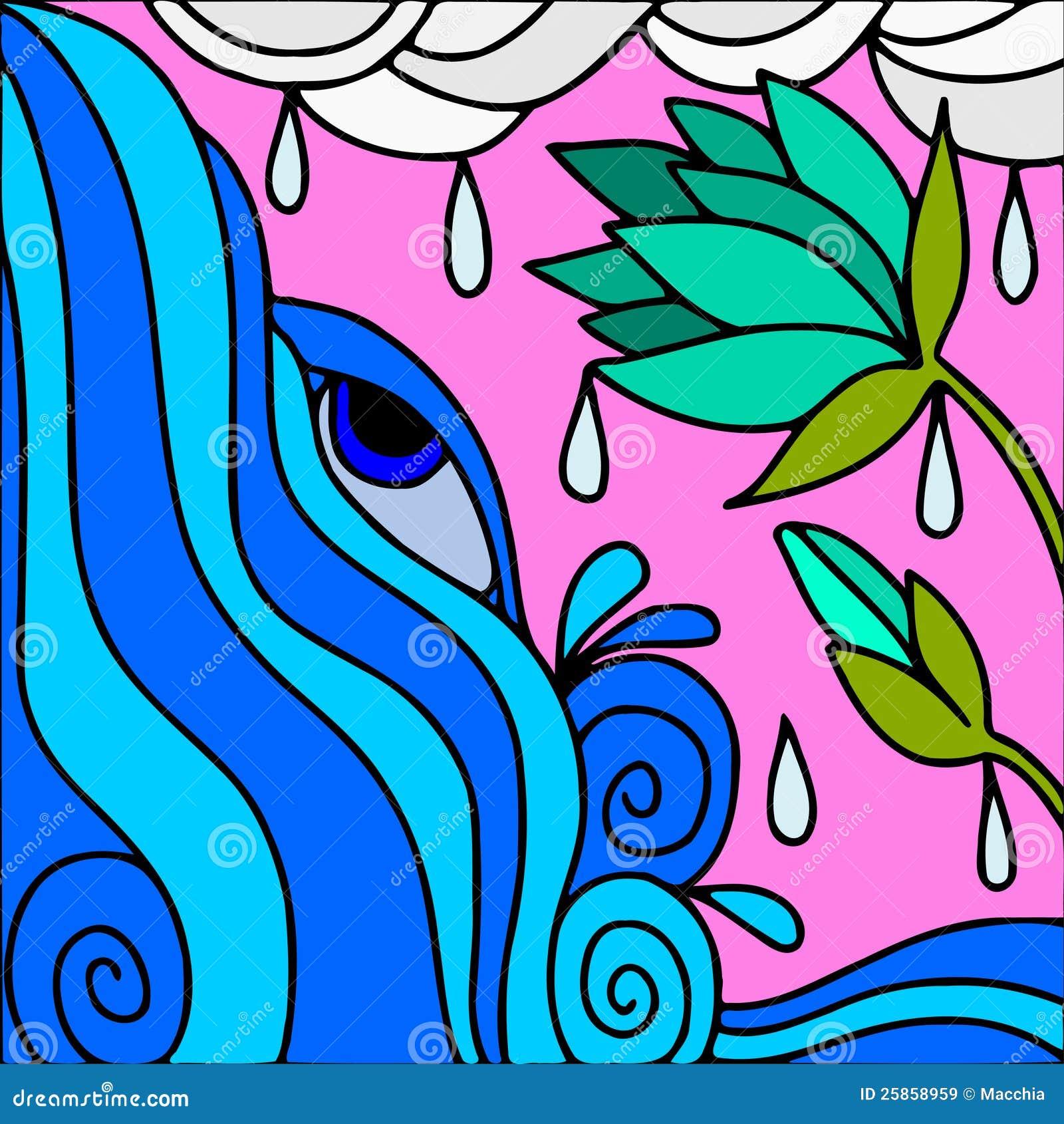 Fiori verdi illustrazione di stock illustrazione di for Fiori verdi