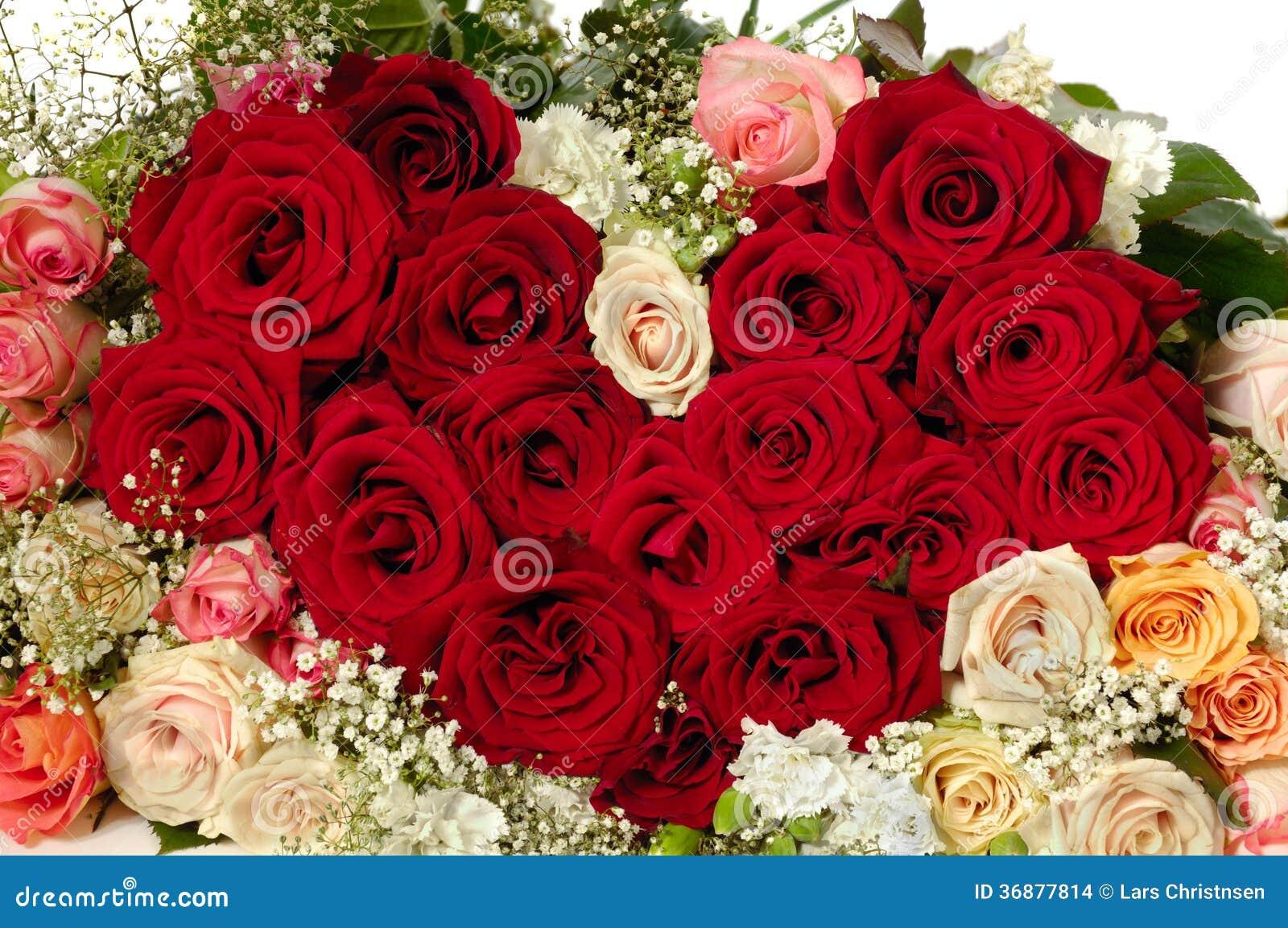 Download Fiorisce La Forma Del Cuore Fotografia Stock - Immagine di celebrazione, romantico: 36877814