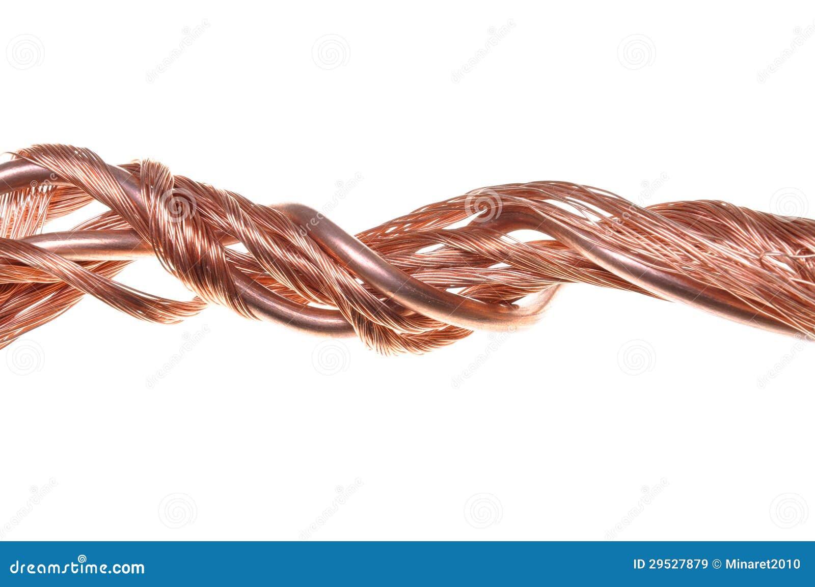 Fios de cobre