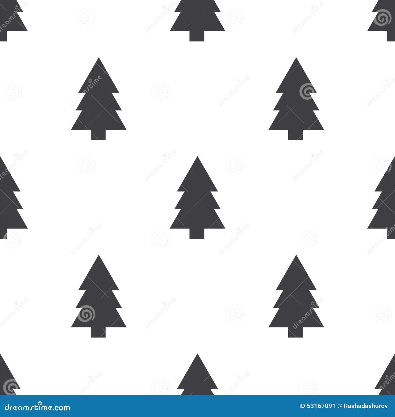Tannenbaum Muster.Fir Tree Seamless Pattern Stock Illustration Illustration Of Music