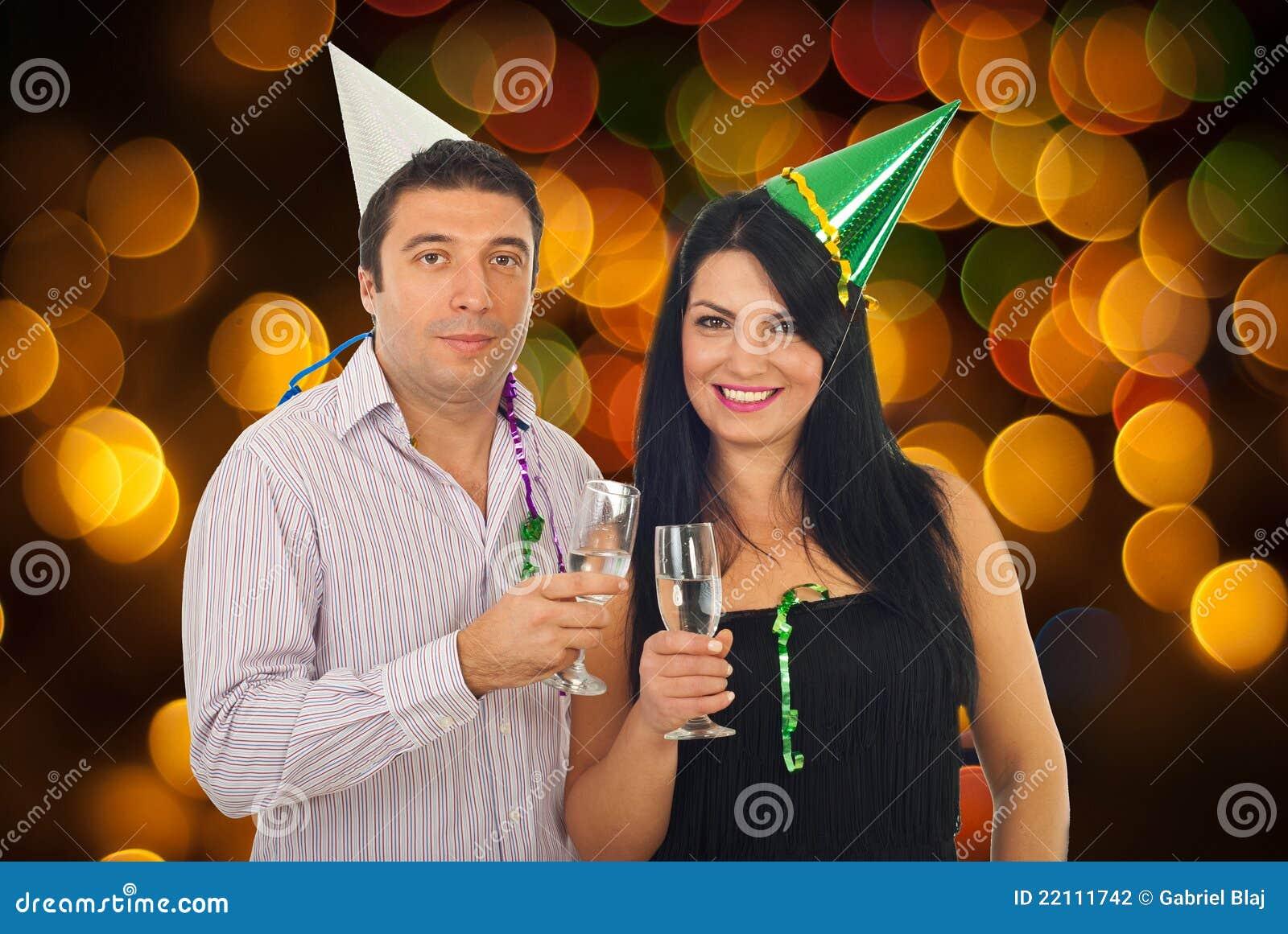 Fira nyårsafton för par