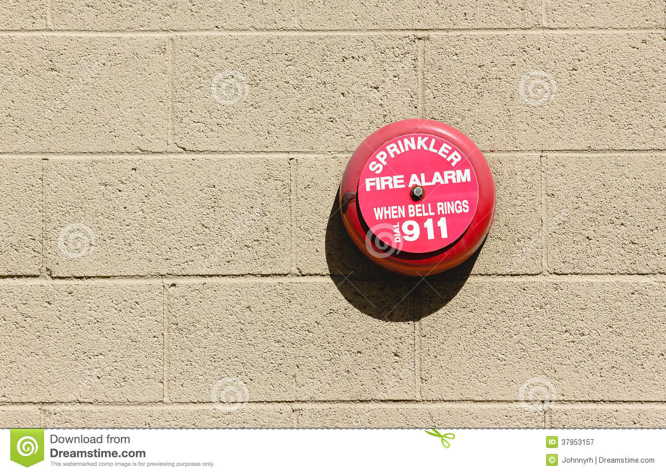 Fire Alarm Bell Royalty Free Stock Photography - Image: 37953157